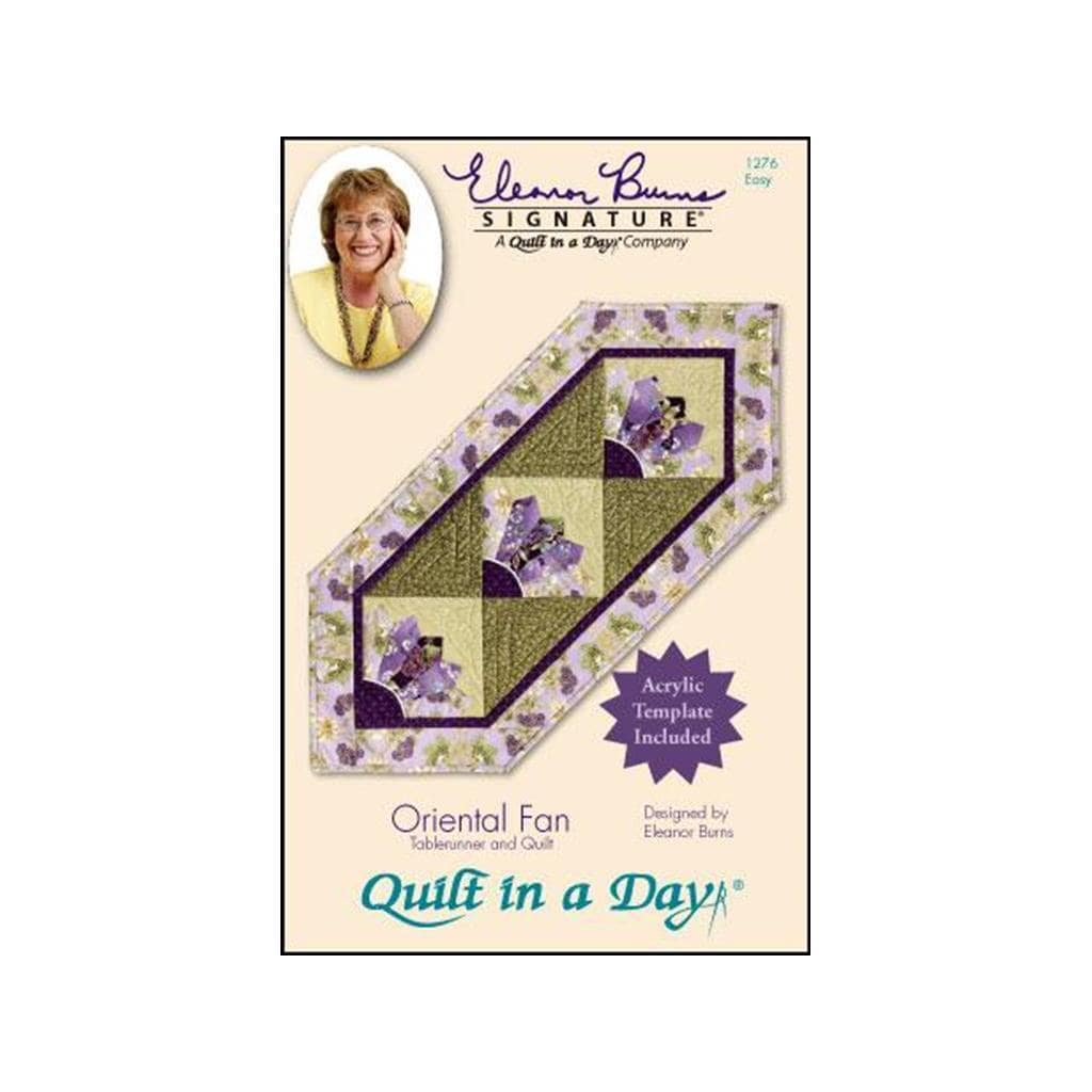 Quilt In A Day Oriental Fan Ptrn & Template (Sewing & Qui...