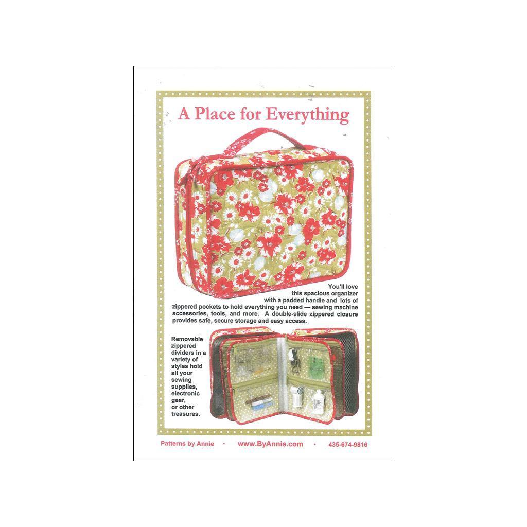 Sullivans By Annie A Place For Everything Ptrn (Sewing & ...