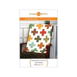 Orange Dot Quilts On The Plus Side Ptrn