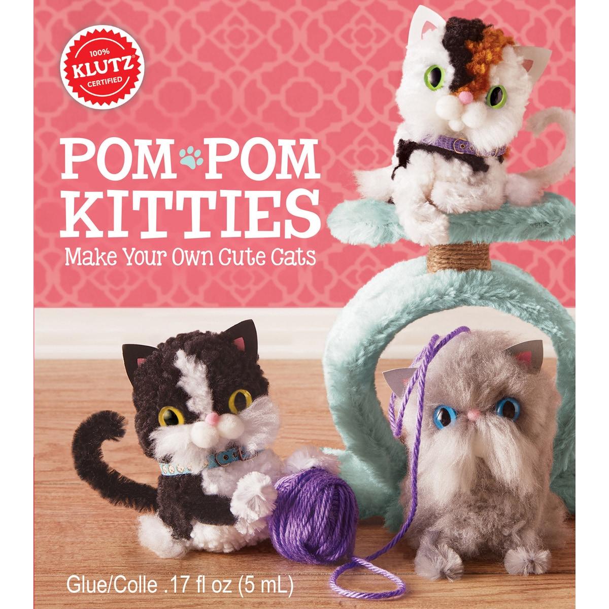 Klutz Pom-Pom Kitties Kit- (Pom-Pom Kitties Kit)