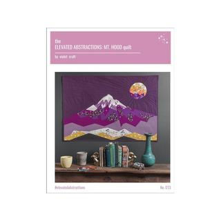 Violet Craft Elevated Abstractions Mt Hood QltPtrn