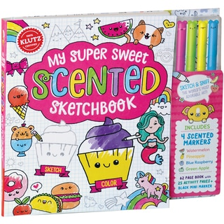 My Super Sweet Scented Sketchbook Kit-