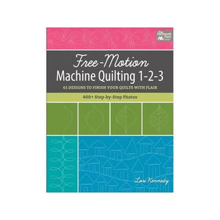 TPP Free Motion Machine Quilting 1-2-3 Bk