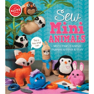 Sew Mini Animals Kit-