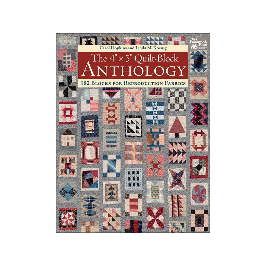 "TPP The 4""x5"" Quilt Block Anthology Bk (Sewing & Quilting..."