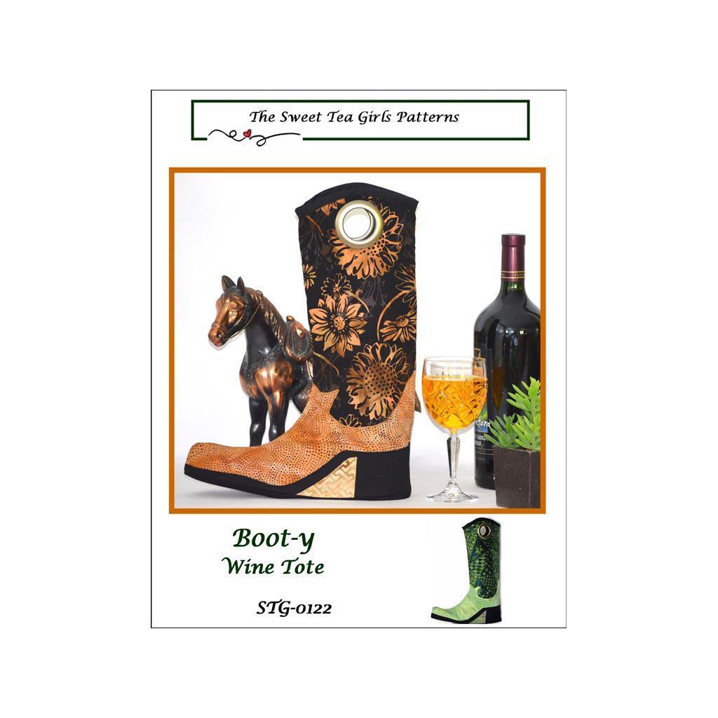Sweet Tea Girls Boot-y-Wine Tote Ptrn (Sewing & Quilting ...