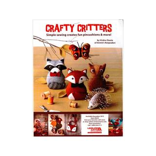 Leisure Arts Crafty Critters Bk