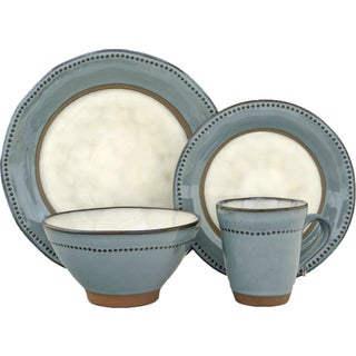 Sango Centrics Stoneware16-piece Dinnerware Set