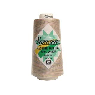 Signature 100%Ctn Quilt Thread 3000yd Var Pastels
