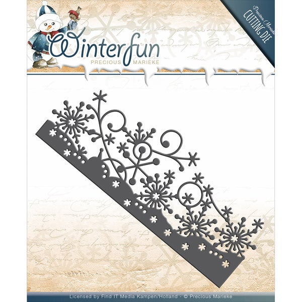 Find It Trading Precious Marieke Winterfun Die-Border