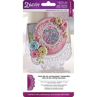 Die'sire Create-A-Card Cut and Emboss Dies-Garden Party