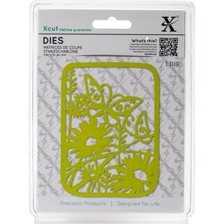 Xcut Decorative Die-Wildflower Butterfly