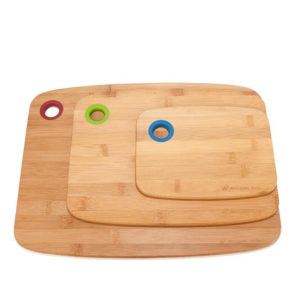 Wolfgang Puck Set Of 3 Bamboo Cutting Boards Free Shipping On Orders Over 45 15284391
