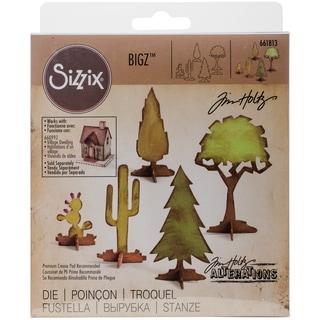 Sizzix Bigz Die By Tim Holtz-Village Landscape