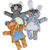 Sizzix Bigz Dies Fabi Edition-L Die - Bear/Bunny/Cat By Jen Jangles