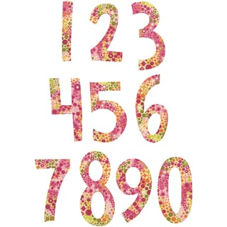 Sizzix Bigz Dies Fabi Edition-Alphabet Set 2 - Fresh Blossoms Numbers