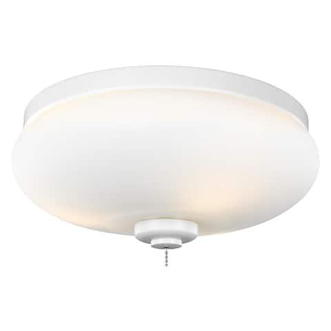 Monte Carlo 3-light White Ceiling Fan Light Kit