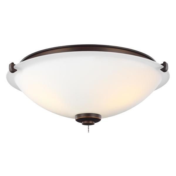 Roman Bronze Ceiling Fan Light Kit