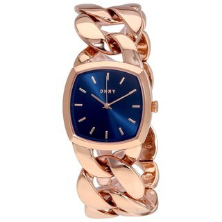 DKNY Women's 'Chanin' Rose-Tone Stainless Steel Watch