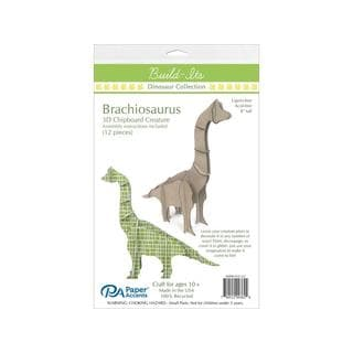 "Build-It's Chip Brachiosaurs 8"" Tall"
