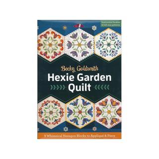 C&T Hexie Garden Quilt Bk