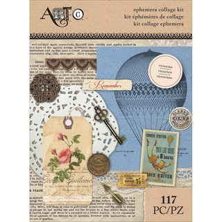 Art-C Ephemera Collage Pack 117/Pkg-Victorian