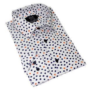 Black Collection By Elie Balleh Milano Italy Boy's 2015 Style Slim Fit Shirt (Option: 16)