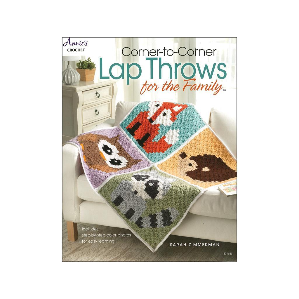 Annie S Corner To Corner Lap Throws For Family Bk Ebay