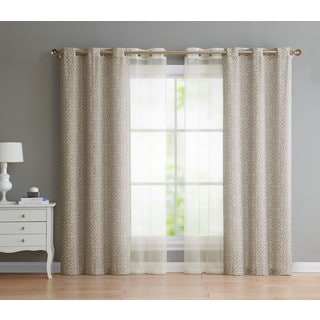VCNY Home Estrada Grommet 4-pack Curtain Panel Set|https://ak1.ostkcdn.com/images/products/15285241/P21754119.jpg?impolicy=medium