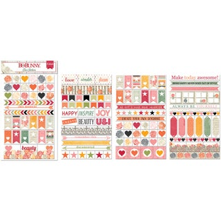 Aryia's Garden Clear Stickers-