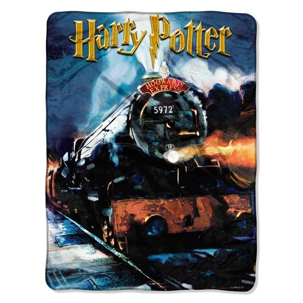 Harry Potter To Hogwarts Throw