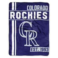 MLB 659 Rockies Walk Off Micro Throw