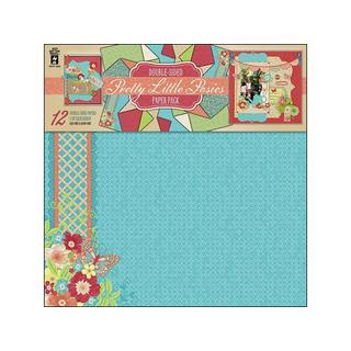 HOTP Paper Pack 12x12 Pretty Little Posies