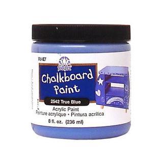 Plaid Folkart Chalkboard Paint 8oz True Blu