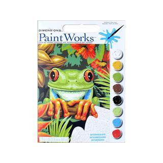 Dimensions Paint By Number 9x12  Tree Frog
