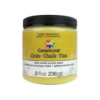 Delta Ceramcoat Chalk Paint 8oz Marigold