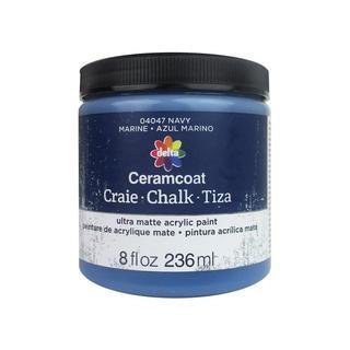 Delta Ceramcoat Chalk Paint 8oz Navy