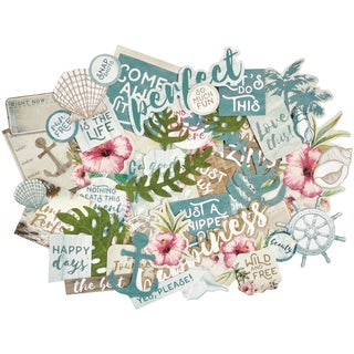 Island Escape Collectables Cardstock Die-Cuts-