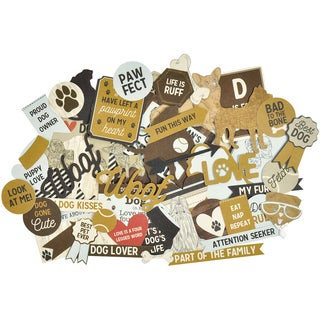 Pawfect Collectables Cardstock Die-Cuts-Dog