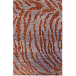 Handknotted Afghan Confidence Rug (4x6)