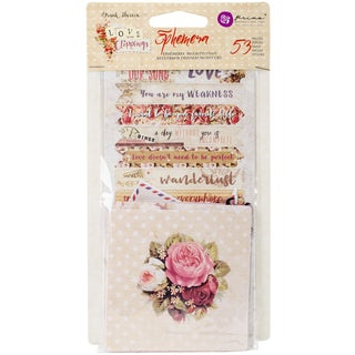 Love Clippings Ephemera Cardstock Die-Cuts-