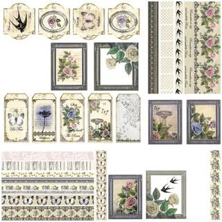 Ultimate Crafts Rambling Rose Ephemera Die-Cuts-
