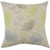 Danessa Floral 22-inch Down Feather Throw Pillow Florence
