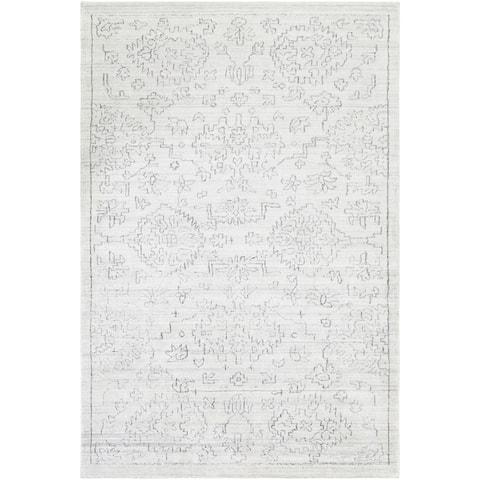 Handmade Valorie Bamboo Silk Area Rug