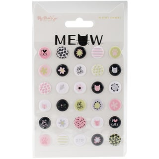 Meow Puffy Stickers-