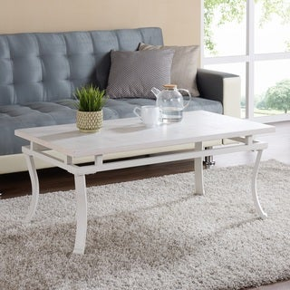 Harper Blvd Edgemore Rectangular Cocktail Table - Antique White