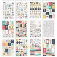 Carpe Diem Faith Stickers A5 12/Pkg-
