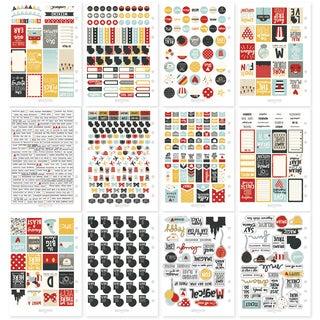 Carpe Diem Say Cheese III Stickers A5 12/Pkg-