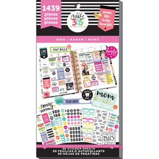 Create 365 Happy Planner Sticker Value Pack-Mom Life