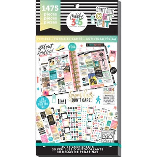 Create 365 Happy Planner Sticker Value Pack-Work It Out